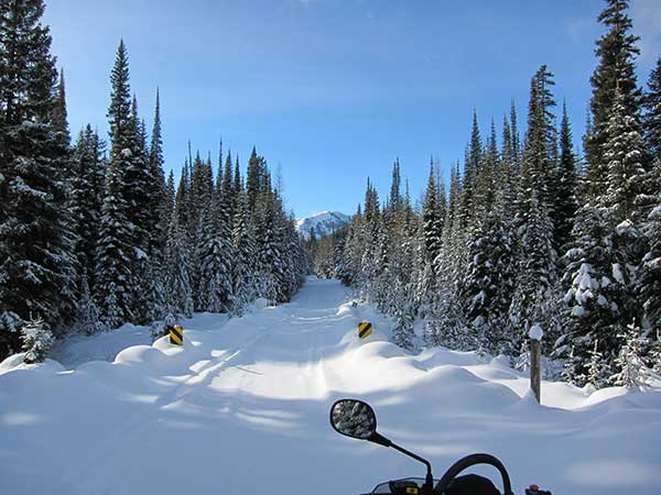 Montana Snowmobile Trail Maps, Nw Montana Troy Snowmobile Club Inc, Montana Snowmobile Trail Maps