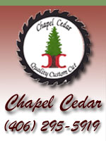 Chapel Cedar in Troy, Montana