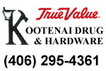 Kootenai Drug and Hardware in Troy, Montana